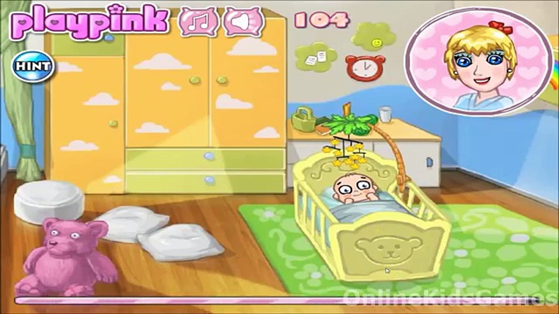 Mommy Cares - Baby Care Kids Games Movie