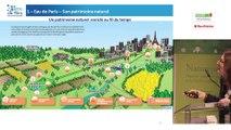 Préservation de la ressource en eau, trame verte et bleue et plan climat, Eau de Paris par Florence Soupizet, Eau de Paris