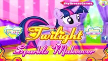 My Little Pony Maquillaje de Baile Twilight Sparkle Maquillaje MLP Juegos para N