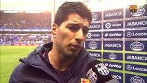 """Luis Suárez: """"Queda mucha liga y no bajaremos los brazos"""""""