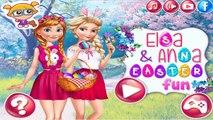 Permainan Beku Elsa dan Anna Easter Fun - Play Frozen Games Elsa and Anna Easter Fun