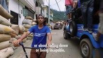 Un rider unijambiste dévoile son histoire et donne une belle leçon de courage