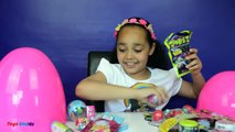 Giant Surprise Egg Opening - Blind Bags - Mashems - Star Monsters - Barbie | Toy Opening C