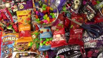 LEARN COLORS with A lot of New Candy Jelly Beans Warheads & More