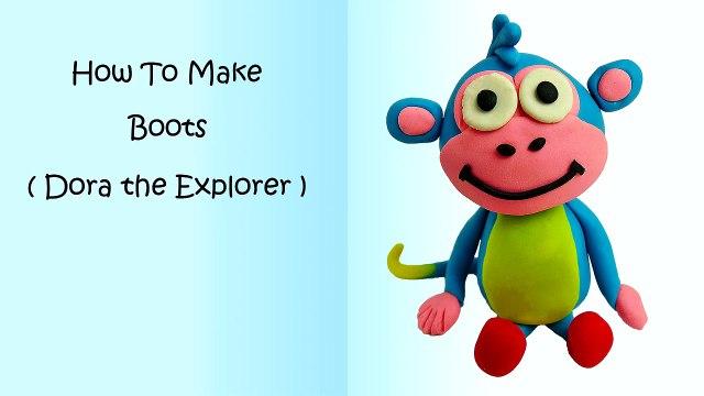 Play Doh Dora The Explorer Backpack Dora & Boots Christmas Season Dora La Exploradora Moch