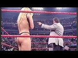Naked Trish Stratus Forced to Strip _ take off her Clothes By Vince McMahon IN WWE