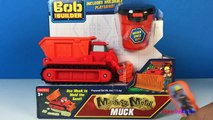 BOB THE BUILDER MASH AND MOLD CONSTRUCTION SITE WITH MIGHTY MACHINES DIZZY SCOOP MUCK AND