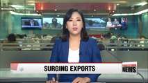 Korea's exports surged nearly 20% in early March