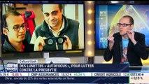 """Anthony Morel: Des lunettes """"autofocus"""" pour corriger la presbytie - 13/03"""