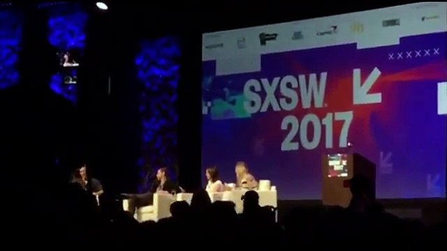 Who of us do you like better Maisie Williams - Sophie Turner -Benioff & Weiss. sxsw