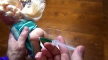 FROZEN ELSA IS SICK EMERGENCY w Joker Crazy Toilet Prank Baby Toys Spiderman in Real Life