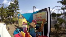 【4K】 リサとガスパールタウン リサとガスパールのパリカート/Lisa and Gaspard Paris cart