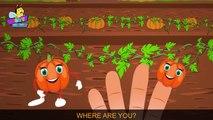 scary pumpkin finger family | nursery rhyme | 3d rhymes | childrens rhymes | kids songs