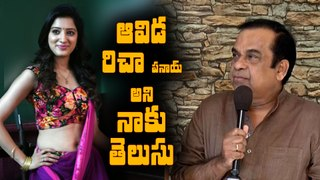 Brahmanandam funny speech at Rakshaka Bhatudu teaser launch event || Richa Panai||Vamsi Krishna Akella