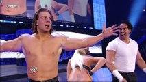 Edge, Vickie Guerrero and Chavo Guerrero Backstage Segment