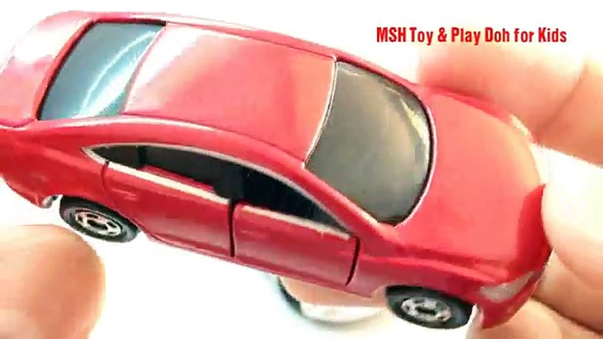 Mini Toy cars| Lotus Evora Gte Vs Mazda Atenza Vs Hitachi Rigid Dump Truck EH3500AC | Tomica Toy Car - Vidéo dailymotion