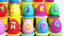 Play Doh Alfabeto Huevos Sorpresa Plastilina ABC de Aprender el Alfabeto Play Doh Huevos Huevos Sorpr