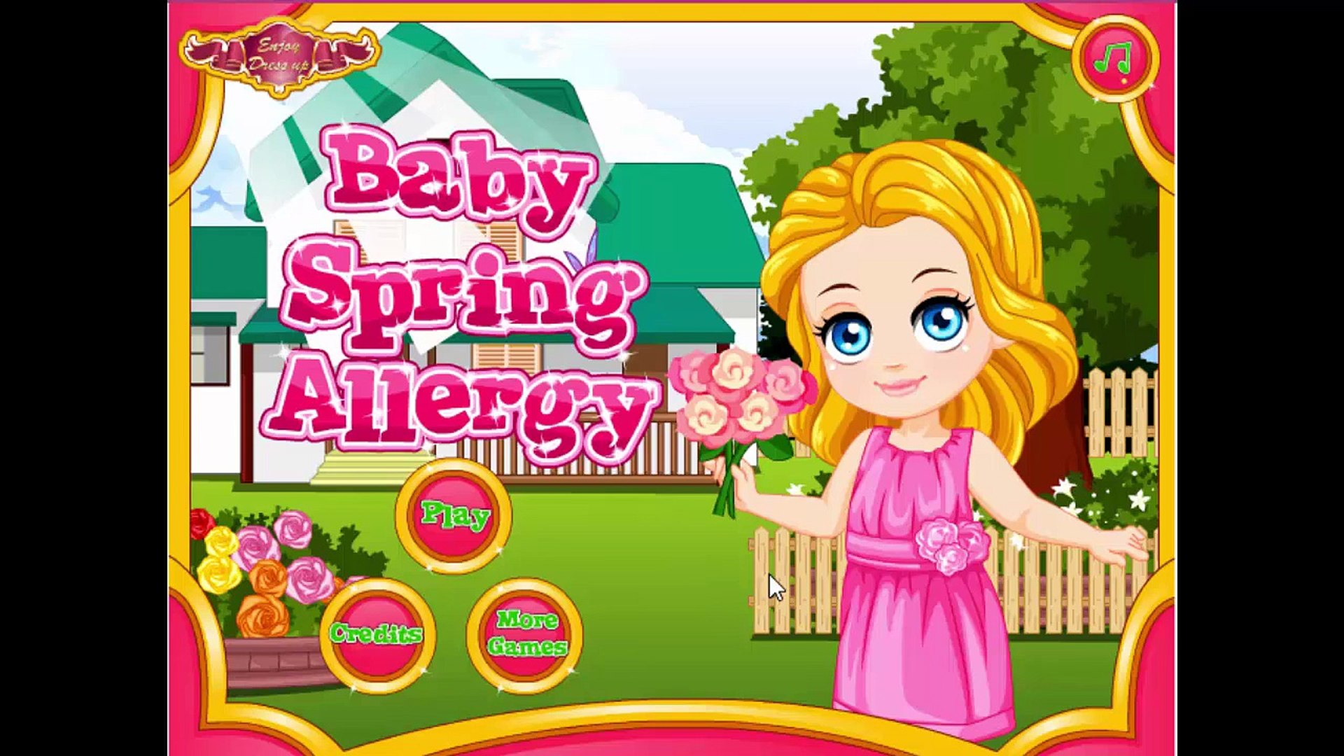 Baby Spring Allergy TV Show - Baby Game for Kids | Kids Games Online