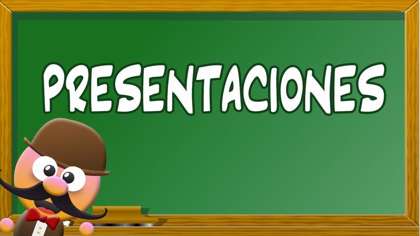 INGLÉS PARA NIÑOS CON MR. PEA [ENGLISH FOR KIDS] - PRESENTACIONES