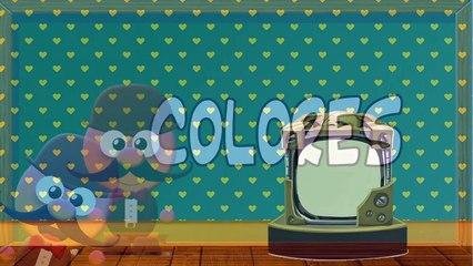 INGLÉS PARA NIÑOS CON MR PEA - LOS COLORES - COLOURS / WHAT IS THE COLOUR OF...?