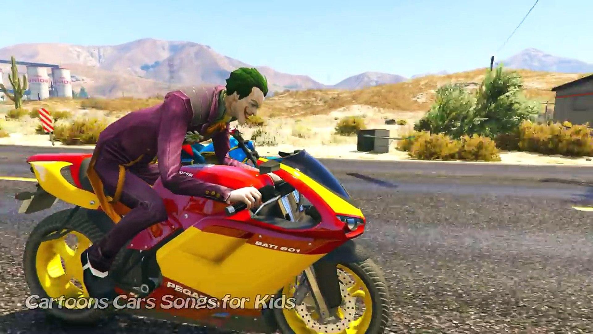 Мультфильм водить машину е е е е килектор джокер Макдоналдс шалость человек-паук супергерои через яд