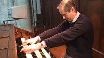 Simon Lawford le nouvel organiste de la cathédrale de Lisieux