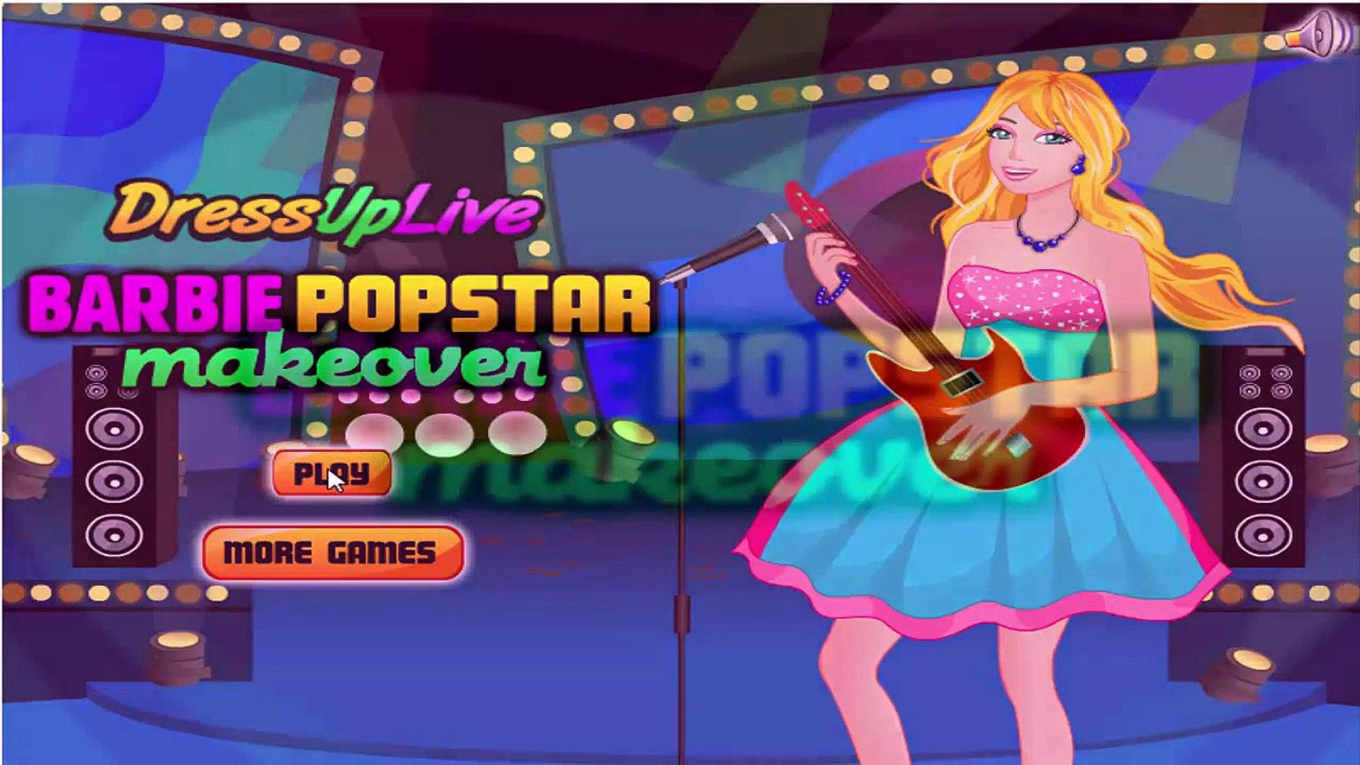 И Барби для Игры девушки в в в в составить поп-звезда Принцесса в