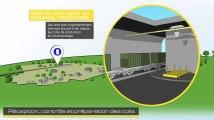 Futur centre de Cigéo : trajet des déchets radioactifs