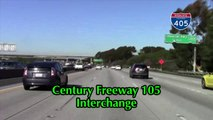 Major Car Crash Pile Up on The 405 Freeway (watch in HD