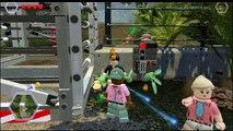 Lego Jurassic World Game Play Fullmovie - Lego Jurassic World Video Game For Kids 5