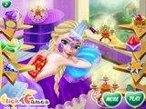 Disney Frozen Queen Elsa and Frozen Princess Anna Spa Therapy Games! Elsa and Anna Games!