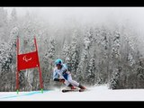 Martin Wuerz  (2nd run) | Men's super combined standing | Alpine skiing | Sochi 2014 Paralympics
