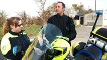 Dinant: la première moto médicalisée de Belgique