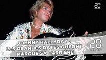 Johnny Hallyday:  Les grandes dates qui ont marqué  la carrière de l'idole des jeunes