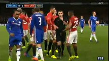 Ander Herrera RED CARD Chelsea 0 - 0 Manchester United FA Cup 13-3-2017