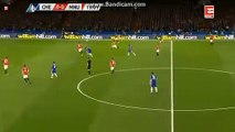 Eden Hazard  Incredible  Miss   - Chelsea 1-0 Manchester United Fa Cup