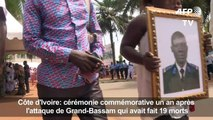 Côte d'Ivoire: inauguration d'une stèle un an après l'attentat