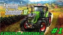 FARMING SIMULETOR 17   INICIO DA AVENTURA   PS4 GAMEPLAY (PT/PT)