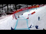 Urko Zabalza (2nd run) | Men's para snowboard cross | Alpine Skiing | Sochi 2014 Paralympics