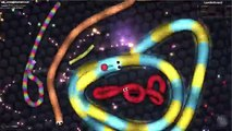 Slither.io - Killing Tiny Snakes   Slitherio Best Epic Moments #2