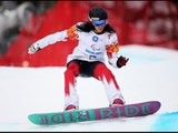 Michelle Salt  (1st run) | Women's para snowboard cross | Alpine Skiing | Sochi 2014 Paralympics