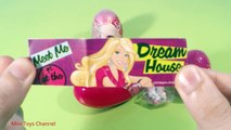 Barbie Surprise Eggs Heart Collection Egg Candies Music Key Hangers Hair Accessories Phone