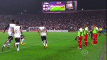 Gol de Guilherme Corinthians 1x0 Independiente Santa Fé Libertadores 2016