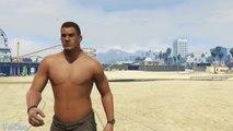 Détails GTA V : muscles, ombres, bruitages voitures... Graphismes jeux vidéos