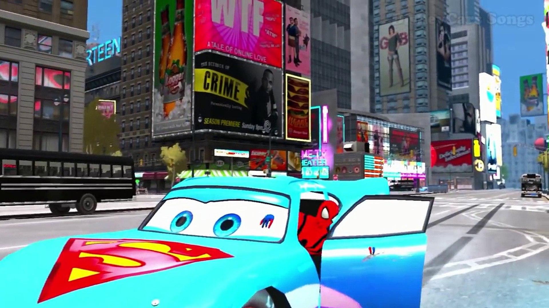 И анимация легковые автомобили Дети дисней для весело Герой Гудзон я я я и в человек-паук