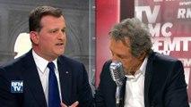 Echange musclé entre Louis Aliot et Jean-Jacques Bourdin sur le temps de parole du FN sur BFMTV