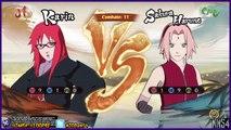 Sakura,Hanabi,Karin vs Naruto,Neji,Sasuke (Español Latino) - Naruto Storm 4 Petición #36
