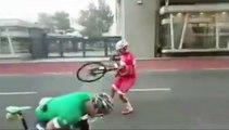 Cyclistes vs Tempête