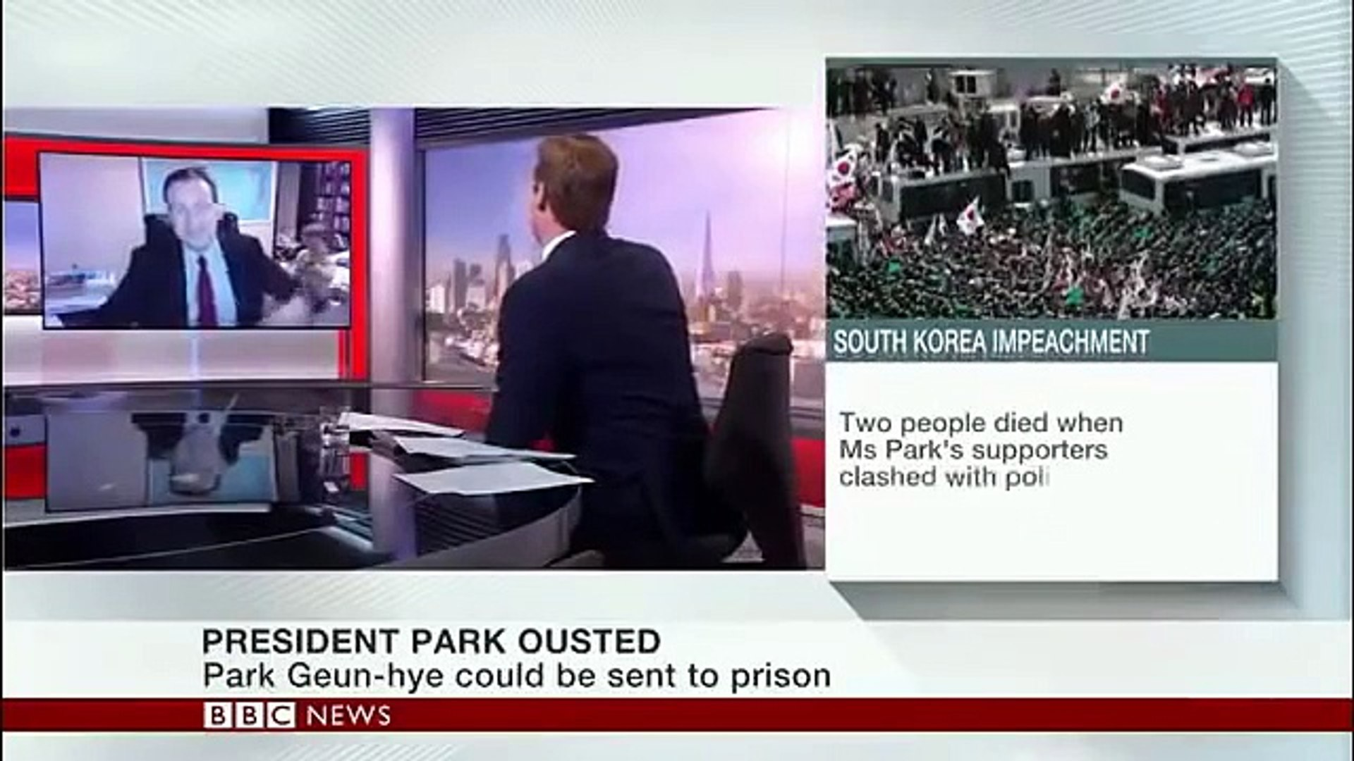 FUNNIEST TV LIVE MOMENT ON BBC NEWS - Children interrupts BBC News Interview
