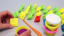 Play Doh Surprise Eggs & Play Doh Learn Letter Alphabet ABC Learn Colors Numbers Toys YouTube